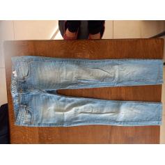 Jeans slim denim  pas cher