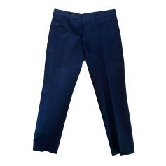 Pantalon droit Dries Van Noten  pas cher