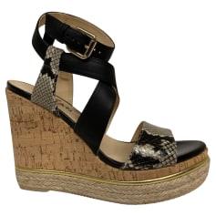 Sandales compensées Hogan  pas cher