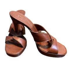 Sandales compensées Pedro Garcia  pas cher
