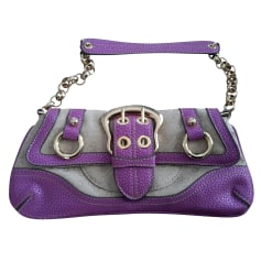 Leather Clutch Guess