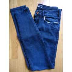 Pantalon slim, cigarette Maison Scotch  pas cher
