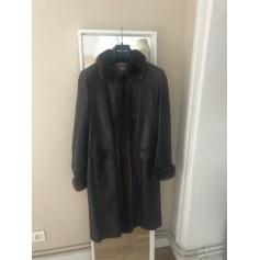 Manteau en cuir Jekel  pas cher