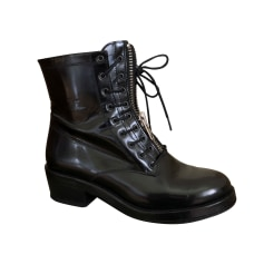 Bottines & low boots plates Sandro  pas cher
