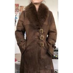 Manteau en fourrure pellessimo  pas cher