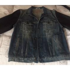 Denim Zipped Jacket Teddy Smith