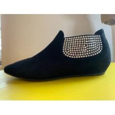 Bottines & low boots plates Giuseppe Zanotti  pas cher