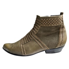 Cowboy Ankle Boots Anine Bing