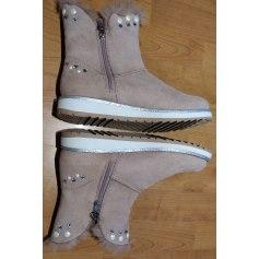 Bottines & low boots à compensés Marco Tozzi  pas cher