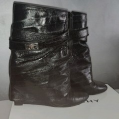 Bottines & low boots à compensés Givenchy Sharklock pas cher