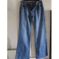 Jeans droit jean United Colors of Benetton  pas cher