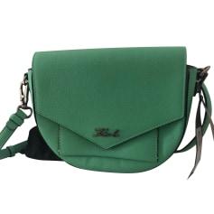 Leather Shoulder Bag Karl Lagerfeld