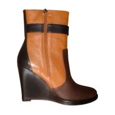 Bottines & low boots à compensés Lola Cruz  pas cher