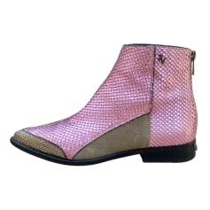 Bottines & low boots à talons Zadig & Voltaire  pas cher