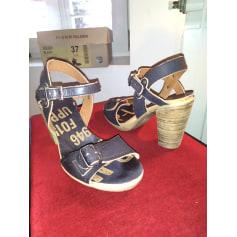 Sandales à talons Palladium  pas cher