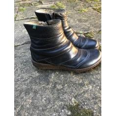 Bottines & low boots plates El Naturalista  pas cher