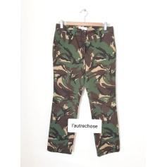 Pantalon droit L'Autre Chose  pas cher