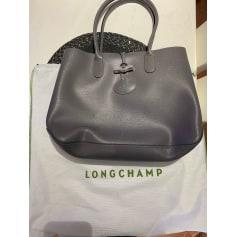 Sac à main en cuir Longchamp Roseau pas cher