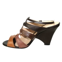 Wedge Sandals Sergio Rossi