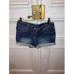Short en jean Mango  pas cher