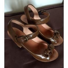 Sandales compensées Gerard Darel  pas cher