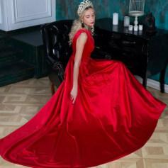 Robe longue luxe mode  pas cher