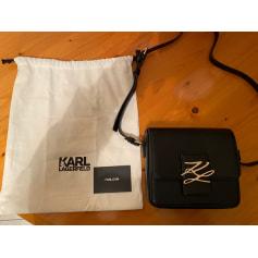 Sac en bandoulière en cuir Karl Lagerfeld  pas cher