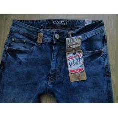 Jeans slim Alcott  pas cher