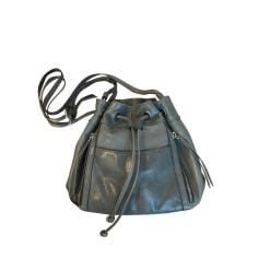 Leather Shoulder Bag Gerard Darel