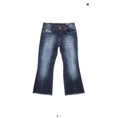 Jeans très evasé, pattes d'éléphant Diesel  pas cher