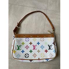 Sac à main en tissu Louis Vuitton Pochette Accessoires NM pas cher