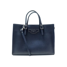 Leather Handbag Balenciaga Papier