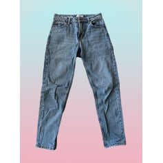 Jeans large, boyfriend Bershka  pas cher