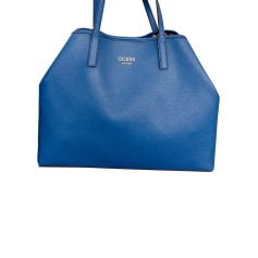 Leather Oversize Bag Guess