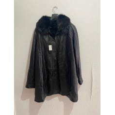 Manteau en cuir Intuition  pas cher