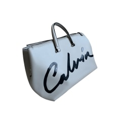Sac à main en cuir Calvin Klein  pas cher