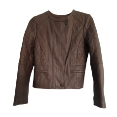 Leather Jacket Comptoir Des Cotonniers