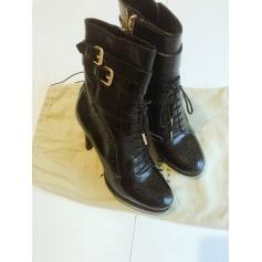 Bottines & low boots à talons Burberry  pas cher