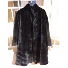 Manteau en fourrure LORENZY PARIS  pas cher