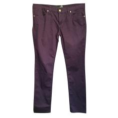 Pantalon droit Love Moschino  pas cher