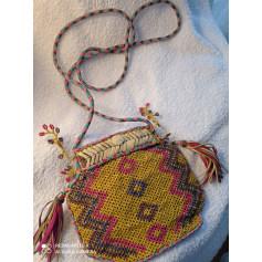 Sac pochette en cuir Antik Batik  pas cher