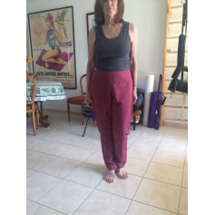 Pantalon carotte Sarah Pacini  pas cher