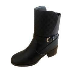 Biker Ankle Boots Chanel