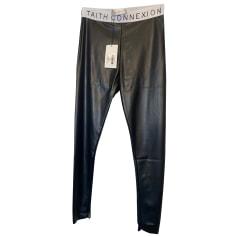 Pantalon slim, cigarette Faith Connexion  pas cher