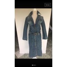 Manteau en jean Mango  pas cher