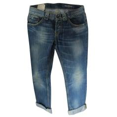 Jeans droit Dondup  pas cher