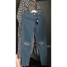 Jeans large, boyfriend Boohoo  pas cher