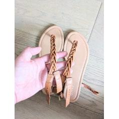 Sandales plates  Moa  pas cher