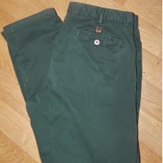 Slim Fit Pants Massimo Dutti