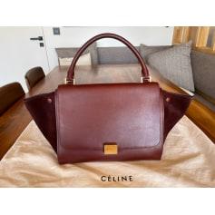 Lederhandtasche Céline Trapèze